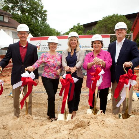 Ronald McDonald House Ground Breaking Ceremony
