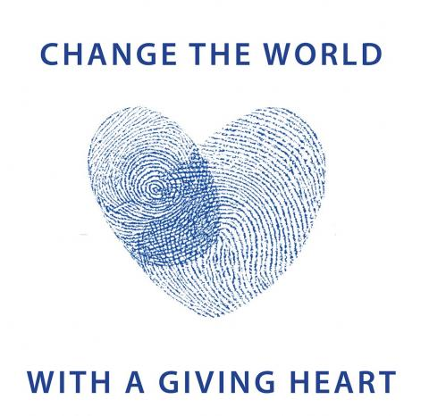 Change the World with a Giving Heart