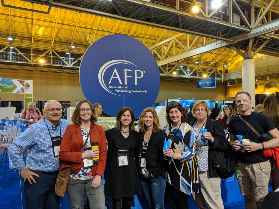 AFP GM members at ICON 2018