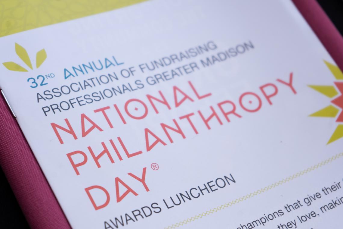 National Philanthropy Day Program